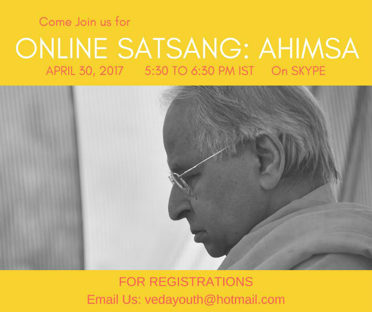 Online Satsang April 30 2017