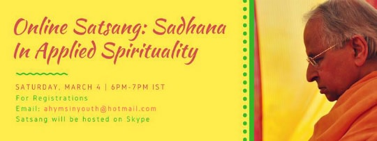 Online Satsang March 4 2017