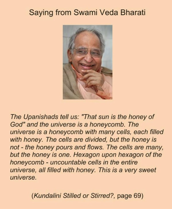 The Universe is a Honeycomb