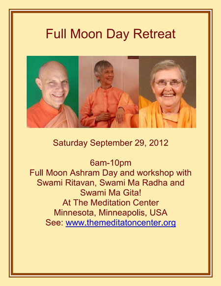 Full Moon Day Retreat