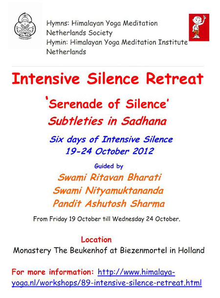 European Intensive Silence Retreat