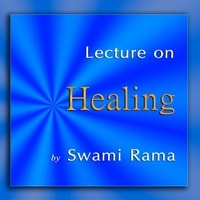Lecture on Healing cd cover