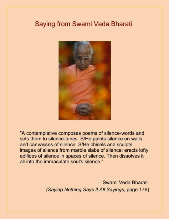 saying from swami veda