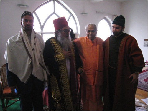 Swami Veda with Guest Sufis